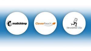 Auswahl an führenden Newsletter Anbietern