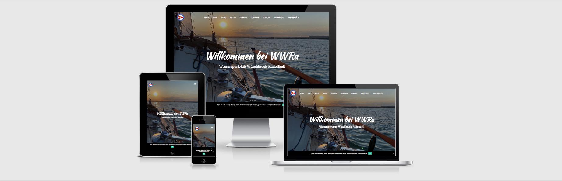 Wassersportclub Wäschbruck Radolfzell e.V. (WWRa) - Alles rund um den Relaunch der Website