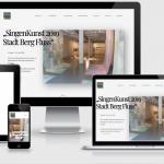 Kunstverein Singen – Relaunch der Website