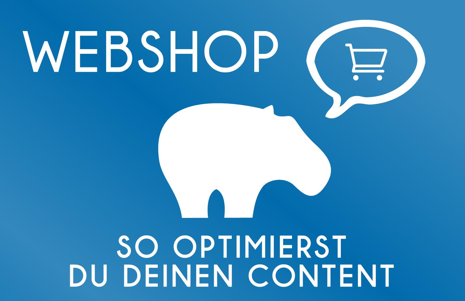 Webshop - So optimierst Du Deinen Content
