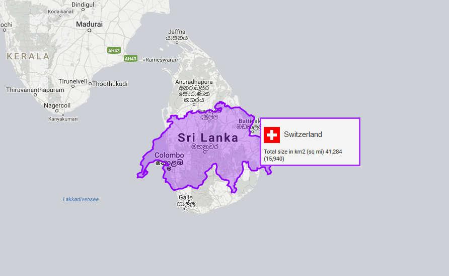 Sri Lanka Schweiz