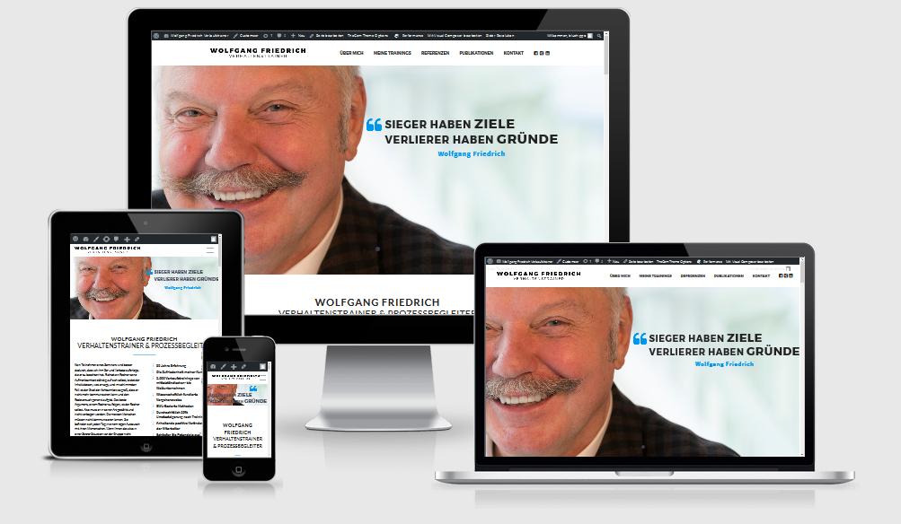 Verhaltenstrainer Wolfgang Friedrich Homepage live